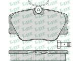 Комплект тормозных колодок, дисковый тормоз  Колодки тормозные MERCEDES BENZ W201/W124 без датчика передние  Толщина [мм]: 19,2 Ширина (мм): 109,8 Высота [мм]: 59,5 для артикула №: 05P280