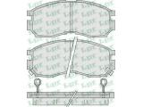 Комплект тормозных колодок, дисковый тормоз  Колодки тормозные MITSUBISHI GALANT/LANCER 1.8-2.0 88-00 передние  Толщина [мм]: 16 Ширина (мм): 127,7 Высота [мм]: 51,8 Количество датчиков износа: 2 для артикула №: 05P1012