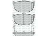 Комплект тормозных колодок, дисковый тормоз  Колодки торм зад NISSAN MAXIMA 89->(572127J)  Толщина [мм]: 14 Ширина (мм): 85,3 Высота [мм]: 46,5 Количество датчиков износа: 2 для артикула №: 05P089