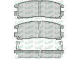 Комплект тормозных колодок, дисковый тормоз  Колодки торм зад Galant/SpaceRunner(572186J)  Толщина [мм]: 15,5 Ширина (мм): 107,8 Высота [мм]: 41 Количество датчиков износа: 2 для артикула №: 05P043