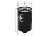 Масляный фильтр  Фильтр масляный AUDI A4/A6/PASSAT 1.8 95-  Диаметр [мм]: 93,2 Высота [мм]: 147,5 Размер резьбы: 3/4