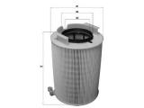 Воздушный фильтр  Фильтр воздушный  Высота [мм]: 220,4 диаметр 2 (мм): 72 Внешний диаметр [мм]: 136 Исполнение фильтра: Фильтр-патрон