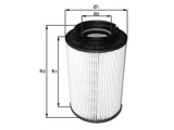 Топливный фильтр  Фильтр топливный VAG A3/G5/TOURAN 1.9/2.0 TDI/SDI  Высота 1 [мм]: 118,2 диаметр 2 (мм): 38 Внешний диаметр [мм]: 83 Исполнение фильтра: Фильтр-патрон