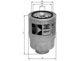 Топливный фильтр  Фильтр топливный  Диаметр [мм]: 93 Высота [мм]: 135 Размер резьбы: M20x1,5 диаметр 2 (мм): 72 диаметр 3 (мм): 62 Исполнение фильтра: Накручиваемый фильтр