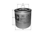 Топливный фильтр  Фильтр топливный SPORTAGE/TUCSON 2.0 CRDI  Диаметр [мм]: 80 Высота [мм]: 140 Размер резьбы: M16x1,5 диаметр 2 (мм): 70 диаметр 3 (мм): 62 Исполнение фильтра: Накручиваемый фильтр