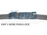 Щетка стеклоочистителя  Щётка с/о 710мм FLATE BLADE Pushlock  Длина [мм]: 700 вариант оснащения: Flatblade Pushlock