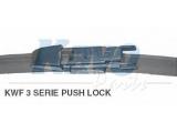 Щетка стеклоочистителя  Щётка с/о 625мм FLATE BLADE Pushlock (RHD)  Длина [мм]: 625 вариант оснащения: Flatblade Pushlock Автомобиль с лево- / правосторонним расположением руля: для правостороннего расположения руля