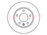 Тормозной диск  Диск торм пер вент G3/PASS 2.0/2.8  Сторона установки: передний мост Диаметр [мм]: 288 Высота [мм]: 28,5 Толщина тормозного диска (мм): 25 Минимальная толщина [мм]: 23 Тип тормозного диска: вентилируемый Количество отверстий: 5