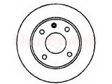 Тормозной диск  Диск тормозной VW GOLF III/VENTO/PASSAT 88>99 передний не вент. D  Сторона установки: передний мост Диаметр [мм]: 256 Высота [мм]: 39,2 Толщина тормозного диска (мм): 13 Тип тормозного диска: полный Минимальная толщина [мм]: 11 Количество отверстий: 4 Ø фаски 2 [мм]: 65