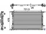 Радиатор, охлаждение двигател  Радиатор двигателя AUDI A4/A5 1.8-2.0/3.0 TDI 07-  Длина [мм]: 720 Ширина (мм): 477 Глубина [мм]: 26 Вид коробки передач: механическая коробка передач Версия: produced by VISTEON