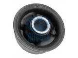 Подвеска, рычаг независимой подвески колеса  Сайлентблок переднего рычага VW GOLF II/III/PASSAT/VENTO/CADDY II  Сторона установки: передняя ось нижняя Сторона установки: сзади Тип руля: для поперечного рычага Тип установки: Резиново-металлическая опора