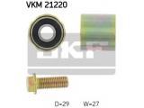 Паразитный / Ведущий ролик, зубчатый ремень  Ролик ремня ГРМ AUDI A4/A6/VW PASSAT/GOLF IV/BORA обводной