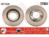 Тормозной диск  Диск торм пер вент LANTRA 1.5 ->98 (561642J)  Тип тормозного диска: вентилируемый Диаметр [мм]: 257 Толщина тормозного диска (мм): 22 Минимальная толщина [мм]: 20 Диаметр центрирования [мм]: 86 Высота [мм]: 34 Количество отверстий: 4 Размер резьбы: 10,4 Ø фаски 2 [мм]: 104