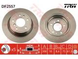 Тормозной диск    Тип тормозного диска: полный Диаметр [мм]: 300 Толщина тормозного диска (мм): 10 Минимальная толщина [мм]: 8,4 Диаметр центрирования [мм]: 75 Высота [мм]: 61,5 Количество отверстий: 5 Размер резьбы: 15 Ø фаски 2 [мм]: 120