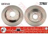 Тормозной диск    Тип тормозного диска: вентилируемый Диаметр [мм]: 300 Толщина тормозного диска (мм): 19,9 Минимальная толщина [мм]: 18,4 Диаметр центрирования [мм]: 75 Высота [мм]: 61,1 Количество отверстий: 5 Размер резьбы: 14,6 Ø фаски 2 [мм]: 120