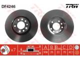 Тормозной диск  Диск торм.пер.вент.ASTRA G/H/ZAFIRA 02-  Тип тормозного диска: вентилируемый Диаметр [мм]: 308 Толщина тормозного диска (мм): 25 Минимальная толщина [мм]: 22 Диаметр центрирования [мм]: 70 Высота [мм]: 42,1 Количество отверстий: 7 Размер резьбы: 14 Ø фаски 2 [мм]: 110 Обработка: Высокоуглеродистый