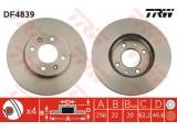 Тормозной диск  Диск торм.пер. i20/RIO II 1.4-1.6 06-  Тип тормозного диска: вентилируемый Диаметр [мм]: 256 Толщина тормозного диска (мм): 22 Минимальная толщина [мм]: 20 Количество отверстий: 4 Диаметр центрирования [мм]: 62,2 Высота [мм]: 46,6 Ø фаски 2 [мм]: 100 Размер резьбы: 12,4