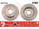 Тормозной диск    Тип тормозного диска: вентилируемый Диаметр [мм]: 256 Толщина тормозного диска (мм): 24 Минимальная толщина [мм]: 22 Диаметр центрирования [мм]: 60 Высота [мм]: 47,2 Количество отверстий: 4 Размер резьбы: 12.6 Ø фаски 2 [мм]: 114,3