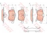 Комплект тормозных колодок, дисковый тормоз  Колодки торм.  перед.  Датчик износа: с звуковым предупреждением износа ограничение производителя: ATE проверочное значение: E9 90R - 01107/788 Длина 1 [мм]: 156,4 Длина 2 [мм]: 155,4 Высота 1 [мм]: 76 Высота 2 [мм]: 70,7 Толщина 1 [мм]: 19,5 Толщина 2 [мм]: 20,3