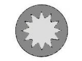 Комплект болтов головки цилидра  Болты ГБЦ AUDI/VW M12x166 1.9TDI  Длина [мм]: 172 Размер резьбы: M12 Профиль головки болта: внутренний многогранник