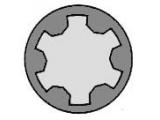 Комплект болтов головки цилидра  Болты ГБЦ AUDI/VW/SKODA 1.8L 20V M10x115  Длина [мм]: 120 Размер резьбы: M10 Профиль головки болта: полидрайв