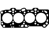 Прокладка, головка цилиндра  Прокладка ГБЦ MITSUBISHI GALAND/LANCER 2.0D 4D68 1метка 1.40мм 92  Толщина [мм]: 1,4 Количество отверстий: 1 Диаметр [мм]: 84
