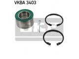 Комплект подшипника ступицы колеса  Подшипник ступ.OPEL ASTRA/CORSA/KADETT/VECTRA 82-05 пер.  Внешний диаметр [мм]: 66 Внутренний диаметр: 34 Ширина (мм): 37