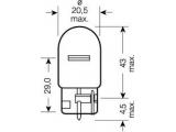 Лампа накаливания, фонарь указателя поворота; Лампа накаливания, фонарь сигнала торможения; Лампа накаливания, задняя противотум  ЛАМПА OSRAM W21W 12V (21W) СТОП/УК.ПОВОР  Тип ламп: W21W Напряжение [В]: 12 Номинальная мощность [Вт]: 21 Исполнение патрона: W3x16d Тип ламп: W21W Напряжение [В]: 12 Номинальная мощность [Вт]: 21 Исполнение патрона: W3x16d Тип ламп: W21W Напряжение [В]: 12 Номинальная мощность [Вт]: 21 Исполнение патрона: W3x16d Тип ламп: W21W Напряжение [В]: 12 Номинальная мощность [Вт]: 21 Исполнение патрона: W3x16d Тип ламп: W21W Напряжение [В]: 12 Номинальная мощность [Вт]: 21 Исполнение патрона: W3x16d Тип ламп: W21W Напряжение [В]: 12 Номинальная мощность [Вт]: 21 Исполнение патрона: W3x16d Тип ламп: W21W Напряжение [В]: 12 Номинальная мощность [Вт]: 21 Исполнение патрона: W3x16d Тип ламп: W21W Напряжение [В]: 12 Номинальная мощность [Вт]: 21 Исполнение патрона: W3x16d Тип ламп: W21W Напряжение [В]: 12 Номинальная мощность [Вт]: 21 Исполнение патрона: W3x16d Тип ламп: W21W Напряжение [В]: 12 Номинальная мощность [Вт]: 21 Исполнение патрона: W3x16d Тип ламп: W21W Напряжение [В]: 12 Номинальная мощность [Вт]: 21 Исполнение патрона: W3x16d Тип ламп: W21W Напряжение [В]: 12 Номинальная мощность [Вт]: 21 Исполнение патрона: W3x16d Тип ламп: W21W Напряжение [В]: 12 Номинальная мощность [Вт]: 21 Исполнение патрона: W3x16d Тип ламп: W21W Напряжение [В]: 12 Номинальная мощность [Вт]: 21 Исполнение патрона: W3x16d Тип ламп: W21W Напряжение [В]: 12 Номинальная мощность [Вт]: 21 Исполнение патрона: W3x16d Тип ламп: W21W Напряжение [В]: 12 Номинальная мощность [Вт]: 21 Исполнение патрона: W3x16d