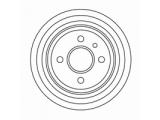 Тормозной барабан  Барабан тормозной задний 200 мм  Диаметр барабана: 200.0 Внутрен. высота торм. барабана [мм]: 53 Общ. высота торм. барабана [мм]: 67 Число отверстий в диске колеса: 4