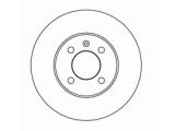 Тормозной диск  Диск торм.пер.вент.VW Caddy ll/Golf ll-l  Диаметр [мм]: 256 Высота [мм]: 38,8 Тип тормозного диска: вентилируемый Толщина тормозного диска (мм): 20,0 Минимальная толщина [мм]: 18 Диаметр центрирования [мм]: 65 Число отверстий в диске колеса: 4