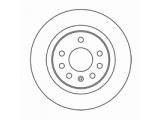 Тормозной диск  Диск торм.задний ZAFIRA 1.8-2.2 05-  Диаметр [мм]: 278 Высота [мм]: 42,3 Тип тормозного диска: полный Толщина тормозного диска (мм): 10,0 Минимальная толщина [мм]: 8 Диаметр центрирования [мм]: 65,3 Число отверстий в диске колеса: 5