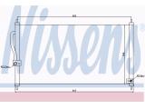 Конденсатор, кондиционер  Радиатор кондиционера HONDA CR-V I 2,0 95-  Материал: алюминий