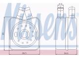 масляный радиатор, двигательное масло  Радиатор масляный  Размеры радиатора: 90 X 90 X 54 mm Материал: алюминий Оснащение / оборудование: для транспортных средств с/без кондиционером для оригинального номера: 028.117.021 B, K, L