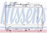 Радиатор, охлаждение двигател  РАДИАТОР ОХЛАЖДЕНИЯ  Размеры радиатора: 360 X 623 X 20 mm Вид коробки передач: механическая коробка передач Оснащение / оборудование: для транспортных средств с/без кондиционером Материал: медь Материал: полимерный материал