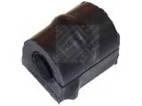 Подвеска, стабилизатор  Втулка стабилизатора  Сторона установки: передний мост Тип установки: Резиновая опора диаметр 1 (мм): 18 Вес [кг]: 0,03