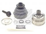 Шарнирный комплект, приводной вал  ШРУС НАРУЖНЫЙ  Тип соединения / сочленения: Шарнир равных угловых скоростей Сторона установки: со стороны колеса Внешнее зубчатое соединение со стороны колеса: 33 Внутренне зубчатое соединение со стороны колеса: 30 Диаметр прокладки [мм]: 53 Внешний диаметр [мм]: 87,9 Число зубцов кольца ABS: 45 Тормозная динамика / динамика движения: для автомобилей с ABS
