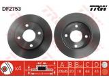 Тормозной диск  ТОРМОЗНОЙ ДИСК  Тип тормозного диска: вентилируемый Диаметр [мм]: 239,7 Толщина тормозного диска (мм): 20 Минимальная толщина [мм]: 18 Диаметр центрирования [мм]: 63,5 Высота [мм]: 43 Количество отверстий: 4 Размер резьбы: 13,6 Ø фаски 2 [мм]: 108