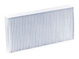 Фильтр, воздух во внутренном пространстве    Длина [мм]: 225 Ширина (мм): 112 Высота [мм]: 30 Исполнение фильтра: Частичный фильтр