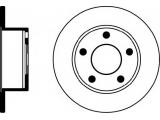 Тормозной диск  Диск тормозной задний  Тип тормозного диска: полный Диаметр [мм]: 245 Высота [мм]: 63,9 Вес [кг]: 3,64 Толщина тормозного диска (мм): 10 Минимальная толщина [мм]: 8 Расположение/число отверстий: 05/05 Диаметр центрирования [мм]: 68 Ø фаски 2 [мм]: 112 Дополнительный артикул / Доп. информация 2: без ступицы Дополнительный артикул / Доп. информация 2: без колесной крепящей оси Номер технической информации: 98200 0575 0 1