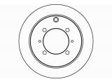 Тормозной диск  Диск тормозной задний  Тип тормозного диска: полный Диаметр [мм]: 262 Высота [мм]: 61,6 Вес [кг]: 4,1 Толщина тормозного диска (мм): 10,0 Минимальная толщина [мм]: 8,4 Расположение/число отверстий: 04/07 Диаметр центрирования [мм]: 90 Ø фаски 2 [мм]: 114,3 Дополнительный артикул / Доп. информация 2: без ступицы Дополнительный артикул / Доп. информация 2: без колесной крепящей оси Номер технической информации: 98200 1040 0 1