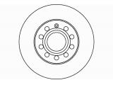 Тормозной диск  Диск торм. AUDI/VW/SKODA OCTAVIA/A3/TOURAN/CADDY задний . 1 шт (m  Тип тормозного диска: полный Диаметр [мм]: 256 Высота [мм]: 48,4 Вес [кг]: 4,28 Толщина тормозного диска (мм): 12,0 Минимальная толщина [мм]: 10 Расположение/число отверстий: 05/10 Диаметр центрирования [мм]: 65 Ø фаски 2 [мм]: 112 Дополнительный артикул / Доп. информация 2: без ступицы Дополнительный артикул / Доп. информация 2: без колесной крепящей оси Номер технической информации: 98200 1211 0 1