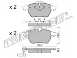 Комплект тормозных колодок, дисковый тормоз  Лямбда-зонд DAEWOO/OPEL/SUZUKI OZA401-E6  Тормозная система: Ate - Teves Ширина (мм): 156,4 Высота [мм]: 74,3 Толщина [мм]: 20 Датчик износа: не подготовленно для датчика износа проверочное значение: ECE R90 APPROVED