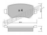 Комплект тормозных колодок, дисковый тормоз  КОЛОДКИ ТОРМОЗНЫЕ ДИСКОВЫЕ ЗАДНИЕ  Тормозная система: Lucas - Girling Ширина (мм): 95,4 Высота [мм]: 42,8 Толщина [мм]: 15 Датчик износа: не подготовленно для датчика износа проверочное значение: ECE R90 APPROVED